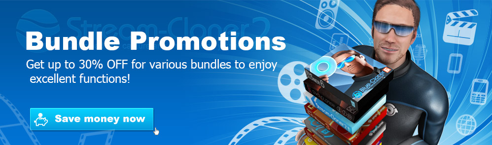 Stream-Cloner Bundle Promotions